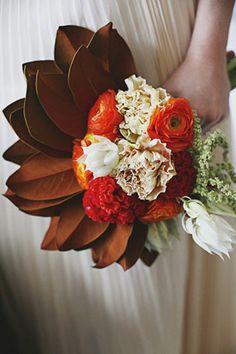 60 роскошных осенних букетов невесты