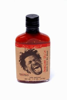 The magic begins with this jerk sauce - in the mouths of those who eat it, a strange voodoo begins to take hold, consuming the body, mind and soul. There is no sensation quite like the one of this sauce with Caribbean fruit juices and spices.