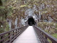 An abandoned train tunnel at the Othello Tunnels near Hope. Just one of 15 unusual hikes near Vancouver. Abandoned Train, Abandoned Places, Vancouver Hiking, Train Tunnel, Cheap Holiday, Photography Basics, Haunted Places, Travel List, Canada Travel