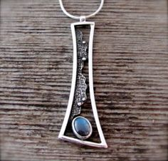 Emergence Necklace with Labradorite