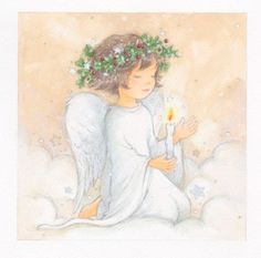 Annabel Spenceley - Angel-with-candle