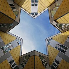 Life Among the Stars . #CubeHouse in #Rotterdam by #PietBlom architects.