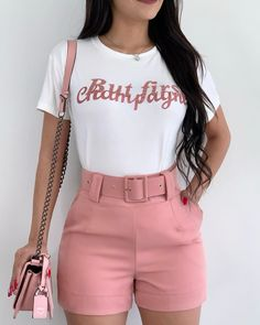 Pll Outfits, Short Outfits, Short Dresses, Cute Outfits, Fashion 2020, Look Fashion, Fashion Outfits, Womens Fashion, Dressy Shorts