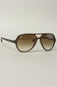 Ray Ban The Cats 5000 Sunglasses in Light Havana,Sunglasses for Women