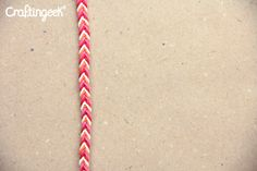 Craftingeek*: Pulsera Mazorca - Trenzas de 4 hilos o mas