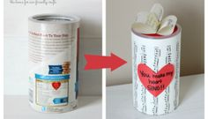 24 Oatmeal Container Crafts