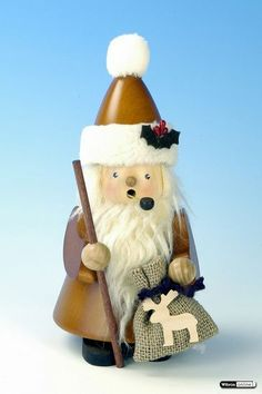 Smoker Santa Claus natural (20cm/8in) by Christian Ulbricht
