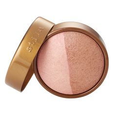 Stila baked cheek duo, pink glow - the shimmer on this is brilliant, great for summer