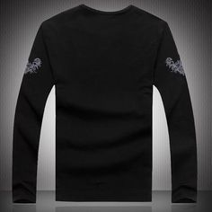 Wholesale Men Shirts - Buy Big Wholesale Men Long Sleeve Shirts Men's Clothing Men's Cotton Autumn Clothing Crew Neck for Mens Shirts Men's Fashion BBox, $10.37 | DHgate