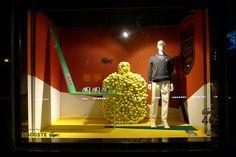 Vitrines Galeries Lafayette - Roland Garros - Paris, mai 2011 www.instorevoyage.com   #in-store marketing #visual merchandising