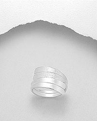 genuine sterling silver ring Matt finished