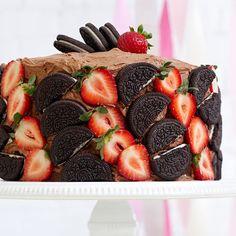 Berries & Cookies Cake Topper