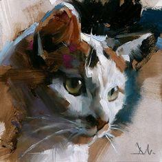 by Greg Manchess : Animal Paintings, Animal Drawings, Watercolor Cat, Guache, Arte Pop, Wildlife Art, Beautiful Paintings, Dog Art, Oeuvre D'art