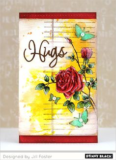 Featuring Penny Black's newest release of stamps and Creative Dies, Love Always 2016