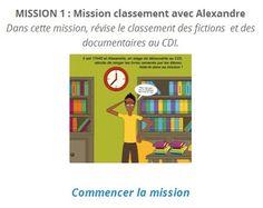 Des serious games pour se former à la recherche documentaire et à l'éducation aux médias et à l'information [accéder à la mission 1]