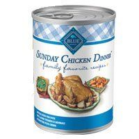 Blue Buffalo Family Favorites Sunday Chicken Dinner Canned Dog Food Chicken, 12 count 12.5oz by Blue Buffalo *** Want to know more, click on the image. (This is an affiliate link and I receive a commission for the sales) #Pets
