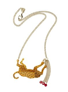 Thursday, Nov. 8 - 50% off Tatty Devine leopard necklace! http://www.luckymag.com/breaks/2012/holiday-discounts