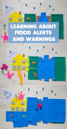 Learning About Flood Warnings. A recent survey by UKDN revealed that 82% of those asked don't know what the flood alerts and warnings mean. This activity explains it in a simple way.