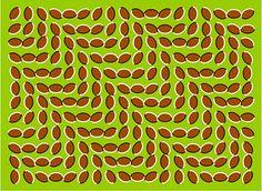 Liikkuvat mantelit illuusio