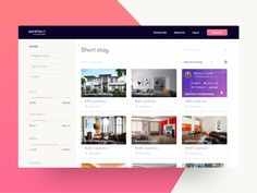 Real Estate UI Explore by Faria