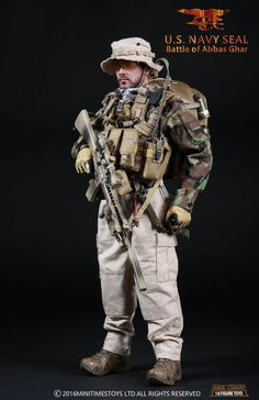 #sixScale#minitimesToys#m005                                                                                                                                                     More Airsoft, Navy Military, Military Gear, Gi Joe, Operation Red Wings, Military Action Figures, Military Special Forces, Special Ops, Military Modelling