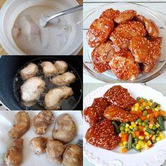 Gluténmentes mézes szezámos csirke