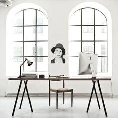 Сторонникам минимализма: 21 потрясающий рабочий стол – Вдохновение