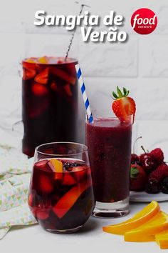 Wine Cocktails, Bar Drinks, Alcoholic Drinks, Caipirinha Drink, Tapas, Cooking Time, Cooking Recipes, Summer Drinks, Food Network Recipes