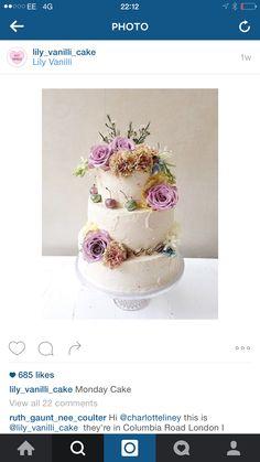 Pink Cake, Desserts, Pink, Food, Tailgate Desserts, Deserts, Kuchen, Essen, Postres