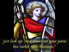 Words straight from Saint Michael , - YouTube