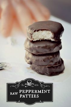 Cool perfection: vegan Raw Peppermint Patties.