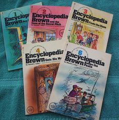 Encyclopedia Brown. Holy cow I totally forgot about her until just now! Loved these books too!