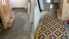 Gallery of Tile Installations | Photos of Victorian Floor Tiles | London Mosaic | Reproducing a Victorian Hall Floor Tile Design