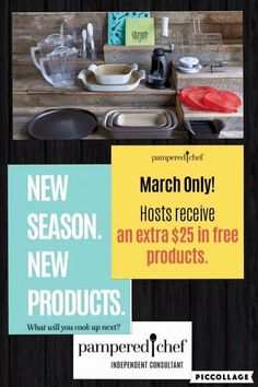 Explore Pampered Chef to find top kitchen products, recipes, and party ideas you'll love, plus details on how to share the love as a Pampered Chef consultant. New March, March 1st, Free News, Kitchen Tops, Independent Consultant, Pampered Chef, Cooking, Party, 1st Contact