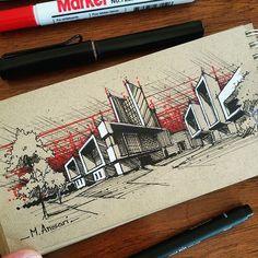 Artist : @m.ansari.architect  برای تبلیغات و تبادل به دایرکت مراجعه کنید.  #architect #architecture #architektur #architectur #arch #sketch #sketching #plan #site_plan #arq #elevation #section  #archi_model#render #arquiteturadeinteriores #archi #معماری #معمار #راندو #کروکی #اسکیس #پلان #سایت_پلان #نما #برش#ماکت #ماکت_معماری  #راندو_در_معمارى #گالری_معماری_سفید #white_architecture_gallery