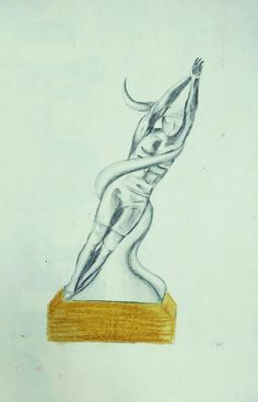 Trophy design #swimming #trophy #silver #drawing #easy #inspiration
