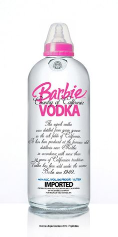 barbie vodka...NEED THIS
