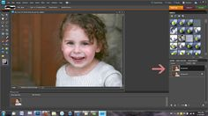 Smoothing skin in photoshop elements