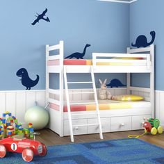 Or perhaps these decals for Sean's room. He does love a good dinosaur.