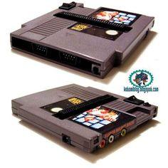 NES console in a cartridge