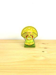 Vintage Mushroom Napkin Holder / Lorrie Designs by VintageEdition