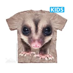 The Mountain - Big Face Sugar Glider Kids T-Shirt, $16.00 (http://www.themountain.com/big-face-sugar-glider-kids-t-shirt/)