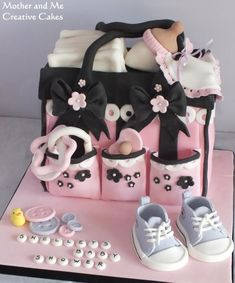 Baby Changing Bag - Cake by Mother and Me Creative Cakes