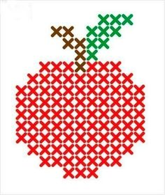 Thrilling Designing Your Own Cross Stitch Embroidery Patterns Ideas. Exhilarating Designing Your Own Cross Stitch Embroidery Patterns Ideas. Cross Stitch Fruit, Cross Stitch Cards, Simple Cross Stitch, Cross Stitching, Cross Stitch Embroidery, Embroidery Patterns, Cross Stitch Patterns Free Easy, Cross Stitch Designs, Pixel Crochet