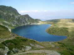 Lake Babreka (The kidney) in Rila mountain