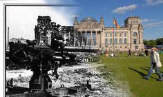 Rephotography Berlin Reichstag (Photography by Michael de Vreugd www.michaeldevreugd.wordpress.com)