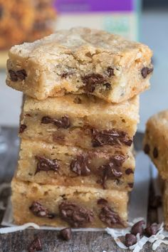 Caramel and Coconut Blondies make the perfect easy sweet treat!