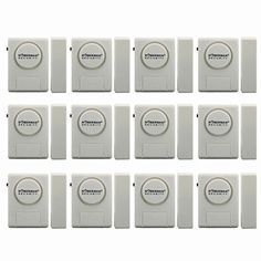 Doberman Security SE-0137 Home Security Window/Door Alarm Kit, 12 Pack (White) * Learn more @ http://www.amazon.com/gp/product/B0026SZHLG/?tag=babyandparest-20&phi=050816175321