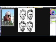 Painter Master Borislav Mitkov shares his process for concepting Game characters. Download a FREE 30-day trial now www.painterartist.com