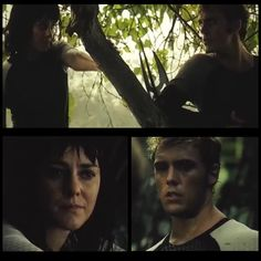 Johanna and Finnick | Two of the saddest stories/people in the whole thing.